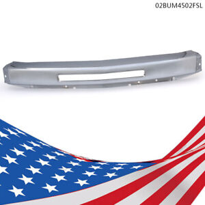 Chrome Front Bumper Fit 2007 2010 Chevy Silverado 1500 09 13 2500 3500 Gm1002831