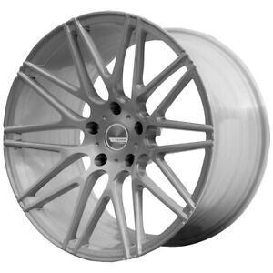 Staggered Verde Vff01 Flow Form F 19x8 5 R 19x9 5 5x112 Brushed Wheels Rims