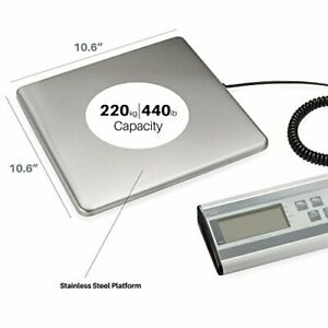 Digital Heavy Duty Shipping postal Scale With Large Platform 440 Lbs Capacity