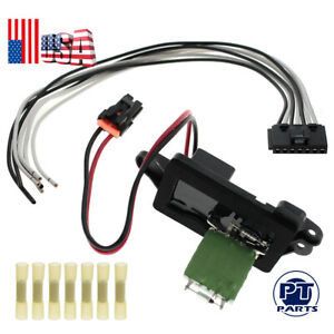 Ac Fan Heater Blower Motor Resistor Front For Chevy Cadillac Gmc Pickup Truck