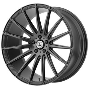 Staggered Asanti Abl 14 Front 19x8 5 Rear 19x9 5 5x120 Graphite Wheels Rims