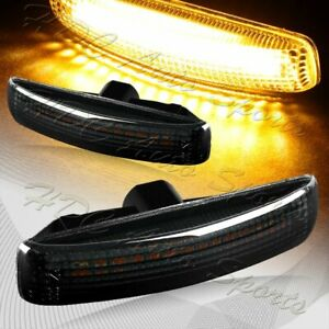 For 06 13 Range Rover Sport L320 Smoke Amber Led Turn Signal Side Marker Lights
