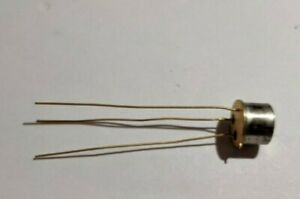 Nos Transistor Vintage Etco ge 2n656a Never Used To 5 Case Long Gold Leads