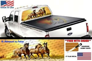 Horse Running Perf Rear Window Graphic Decal Suv Truck Perforated