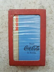 COCA-COLA ADVERTISING PLAYING CARDS - SEALED BLUE WHEAT!