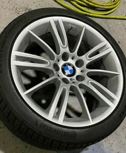 Set Of 18 Style 193 M Spider Star Spoke Bmw Alloy Wheels E9x with Tires