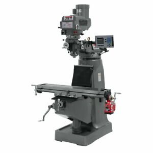 Jet 690301 Jtm 4vs Mill With 300s Dro And X axis Powerfeed