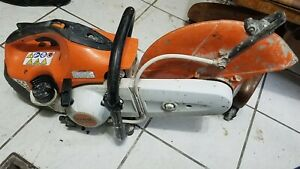 Stihl Ts420 2 Cut Off Concrete Saw New Cylinder Kit And Crank Kit Etc