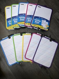 Dry Erase Learning Board Double Side Marker Eraser color May Very Buy2 1fre