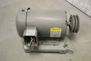 Baldor 3 3 4 Hp Electric 3 phase 2 speed Motor Spray Booth Fan Motor