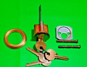 Yale Lock 1109 Rim Cylinder Para Keyway 5 pin Us10 4 Keys Locksmith