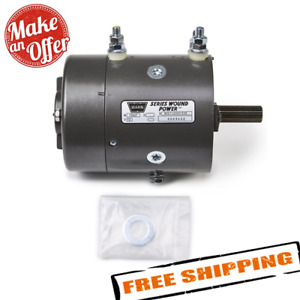 Warn Industries 77893 12v Replacement Winch Motor For M6000 M8000