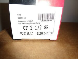Mcgill Camrol Cf 2 1 2 Sb Cylindrical Cam Follower Stud Mount Roller New