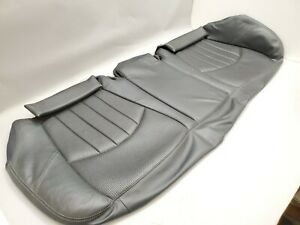 Mercedes E55 W211 Amg 2003 Rear Seat Lower Leather Black Oem