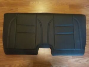 Authentic Volvo Accessories Third Back Seat Leather Seat Cover Black