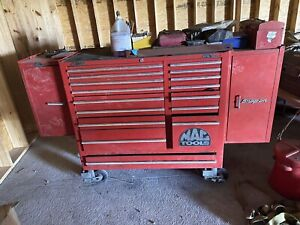 Mac Tool Box 17 Drawer With 2 Side Cabinets Snap On