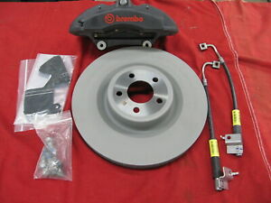 Oem New 2015 2017 Ford Racing Mustang Performance Pack Brembo Front Brake Kit