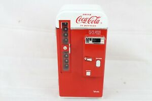 VINTAGE COCA COLA VENDING MACHINE MUSICAL BANK 1994 COLLECTABLE COKE WORKING