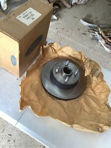 Nos 1993 Mustang Cobra Fron Disc Brake Rotors F3zz 1102 a