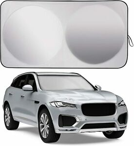 Ablewipe Fit For Bmw Car Windshield Sun Shade Uv Block Foldable Visor Cover L