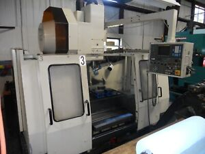1997 Yang 3 Axis Cnc Machining Center With Fanuc O m Control