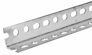 Boltmaster 11113 1 1 4 X 48 Slotted Angle Bar Zinc