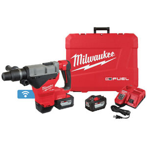 Milwaukee 2718 22hd M18 Fuel 1 3 4 Sds Max Rotary Hammer One Key Kit 2 battery