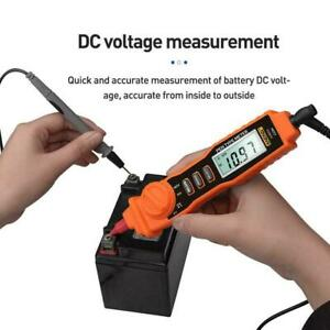 A3002 Digital Multimeter Pen Type 4000 Counts With Non contact Tester Tool J0m6