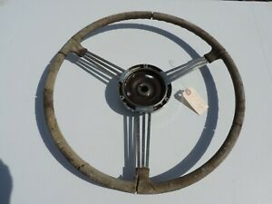 1941 Buick 2 Door Coupe Original Banjo Steering Wheel Gm Rare Accessory
