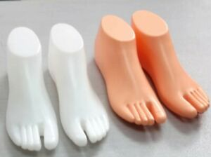 1 Pair Thong Style Female Foot Shoes Feet Mannequin For Foot Sandal Shoe Display