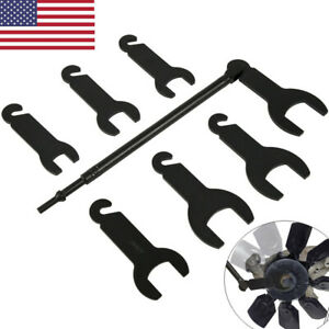 43300 Pneumatic Fan Clutch Wrench Set Removal Tool Fit For Ford gm chrysler jeep