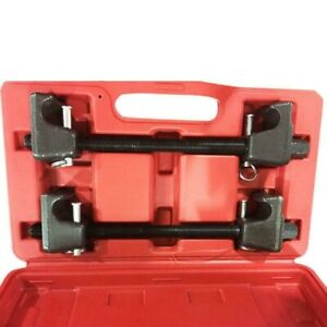 2pcs Heavy Duty Coil Spring Compressor Strut Remover Installer Suspension Tool