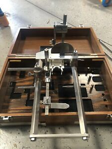 Vintage Lab Tronic No 4 Small Animal Frame Stereotaxic Equipment