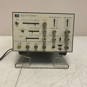 Hewlett Packard Hp 8012b Pulse Generator Tested And Working