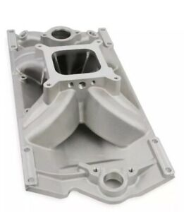 Holley 300 264 Sbc 4150 Single Plane Intake Manifold V8 With L31 Vortec Heads