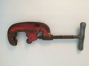 Rigid Pipe Cutter No 42a Four Wheel Heavy Duty 1 2 To 2 Capacity