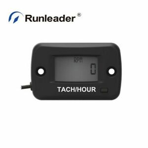 Hour Meter Maintenance Tachometer Rpm Realtime Display Max Rpm Motorcycle Marine