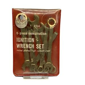 Vintage Sears Craftsman Combination Ignition Wrench Set Made Usa