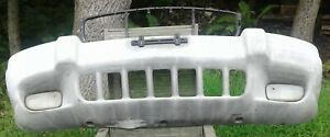 No Shipping 1999 2000 2001 2002 2003 Jeep Grand Cherokee Front Bumper Cover