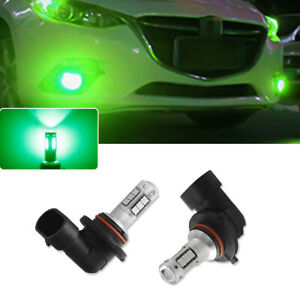 2pcs Universal Green 9005 9006 30 Smd Led Fog Driving Light Bulbs Conversion Kit