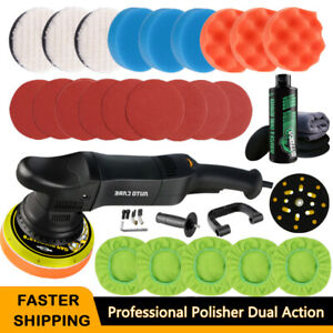 6 Dual Action Polisher 700w Car Buffer Sander Polishing Machine W Coating Kit