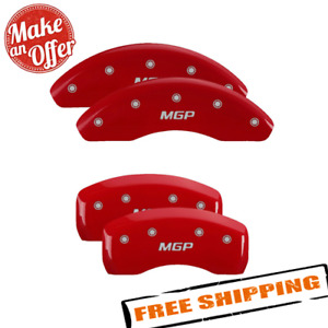 Mgp 16237smgprd Red Caliper Covers For 2018 2020 Toyota Camry