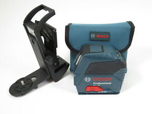 Bosch Gll 50 Self Leveling Cross Line Laser Level 50ft