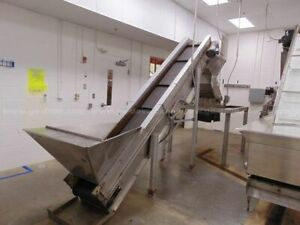 Prodeva 318 ss Glass Crusher And Prodeva Cc 19 12 Incline Conveyor