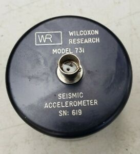 Wilcoxon Research 731 Seismic Accelerometer 3