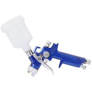 Mini Air Spray Gun Hvlp 1 0mm Auto Car Detail Touch Up Paint Sprayer Spot Repair