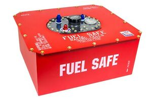Fuel Safe Race Safe 12 Gal Red Fuel Cell And Can P N Rs212