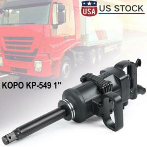 Kopo Heavy Duty 1 Drive Air Impact Wrench Tool Gun 1 Inch Long Shank