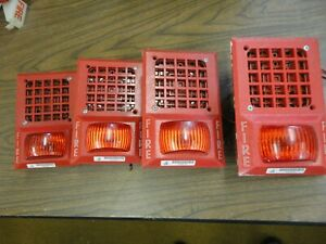 Fci gamewell Model Hp 1303115b Series B4 Fire Alarm Horn strobe
