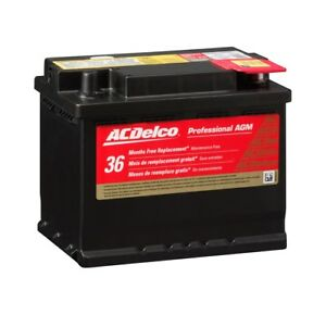 Battery Automotive Agm Right Acdelco Pro 47agm